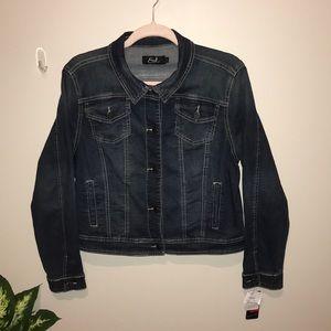 Earl Jean denim jacket with UT longhorn emblem